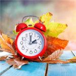 Alarm Clock in Fall