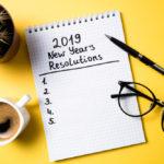 2019 New Year's Resolution list
